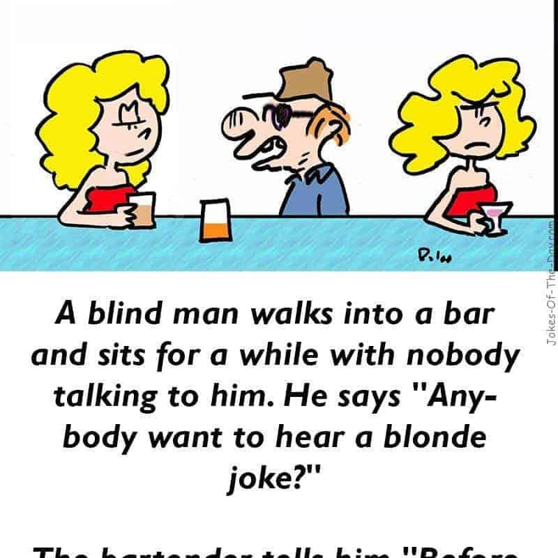 Funny Blonde Joke