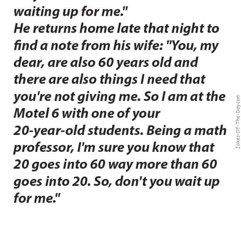 funny maths joke