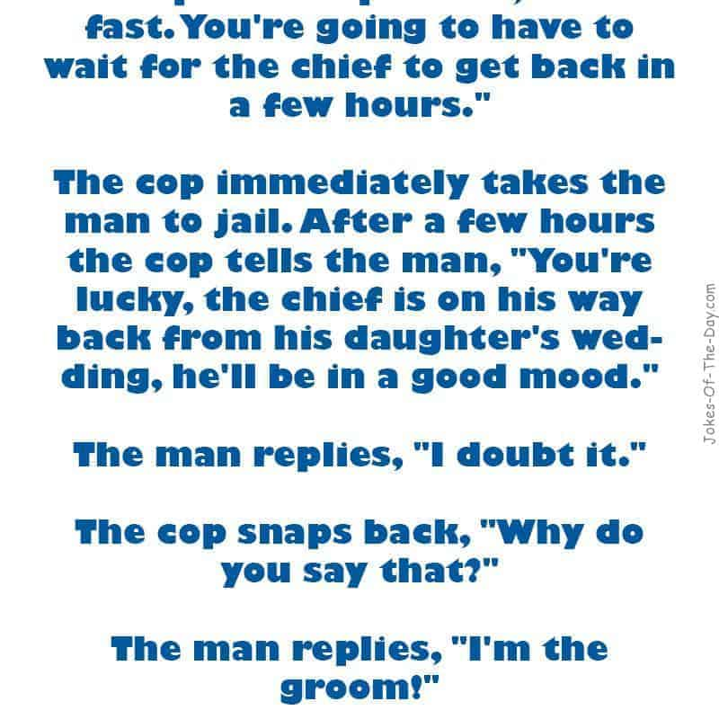 funny speeding joke
