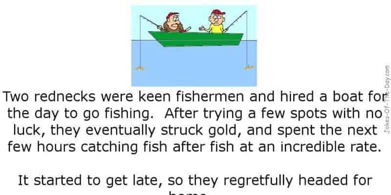 funny redneck fishing joke