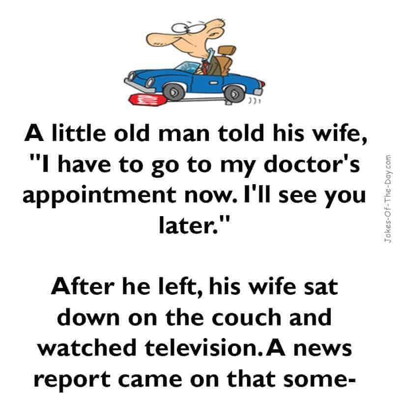 funny old man driving joke
