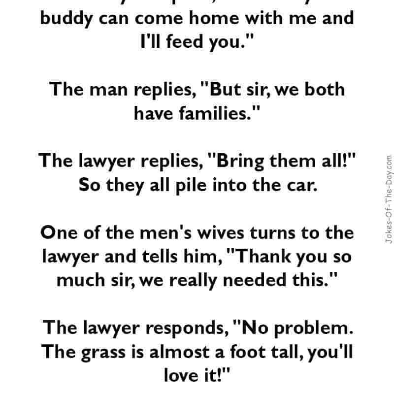 Funny Lawyer Joke