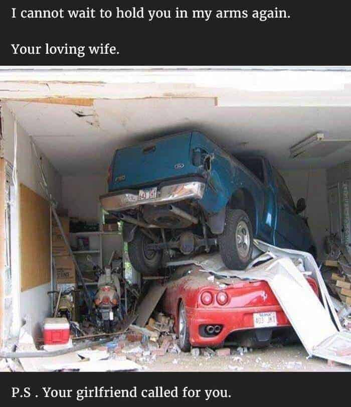 funny cheating husband joke