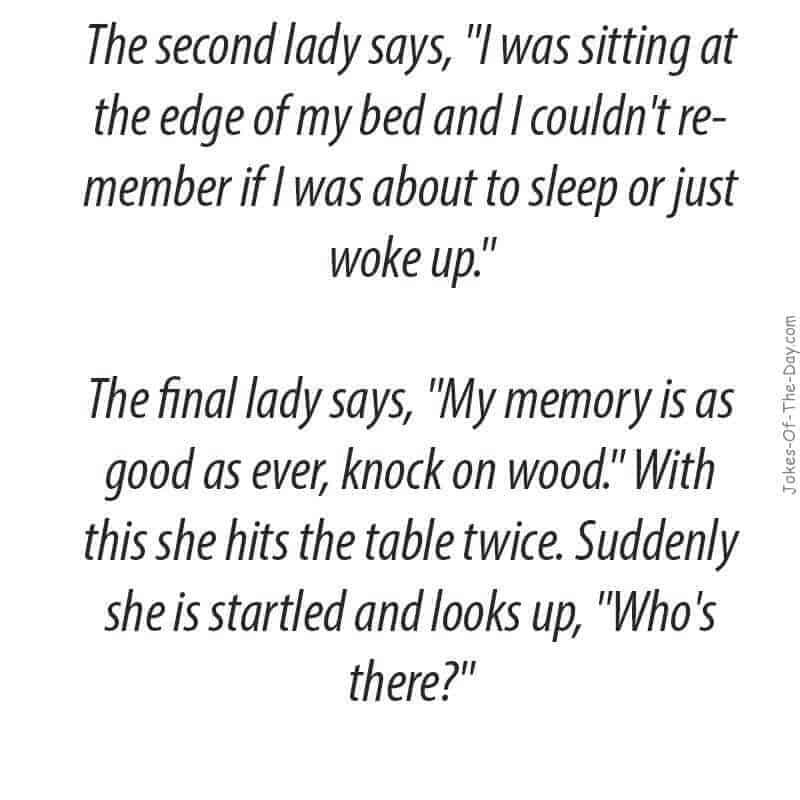 old lady joke
