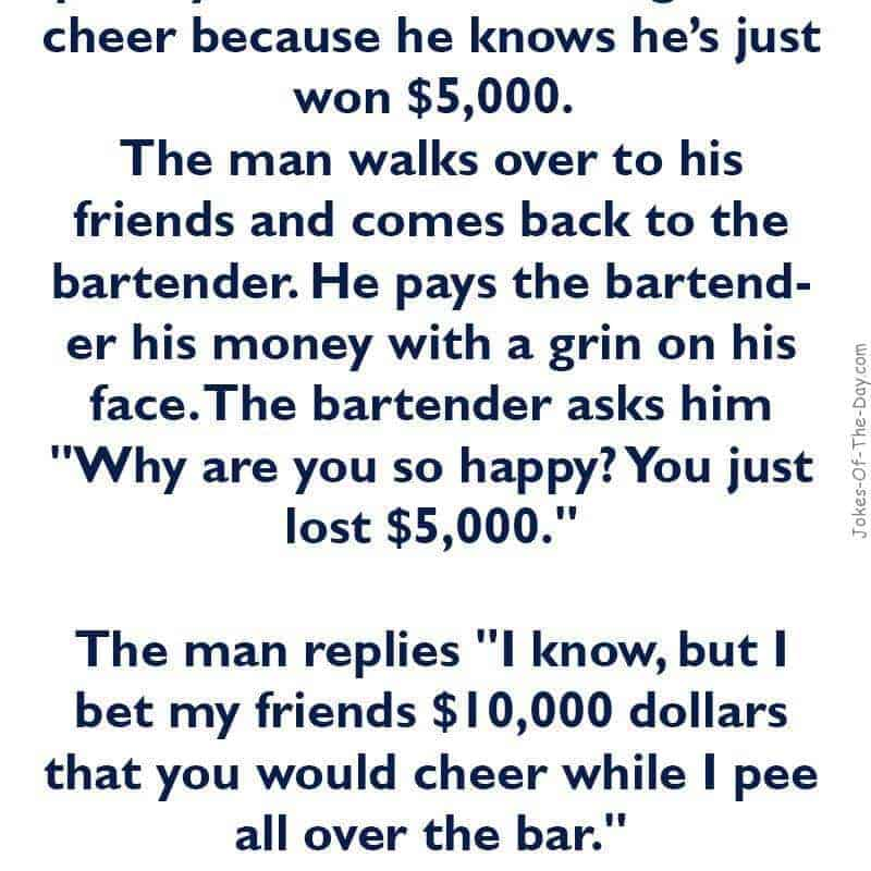 funny bar joke
