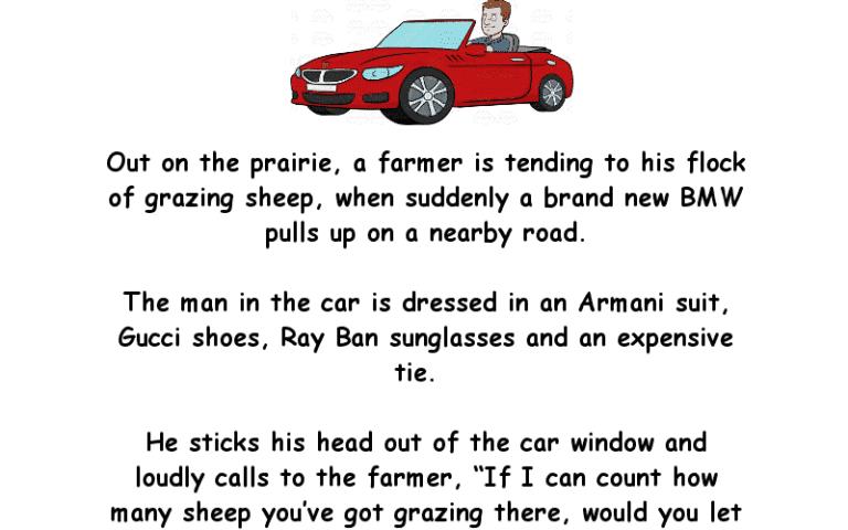 City Man Makes A Bet With A Farmer Clean Joke