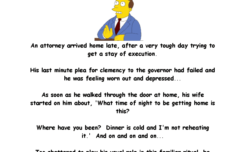 Joke About The Depressed Attorney