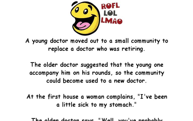 Two Doctors Diagnosis Funny Joke