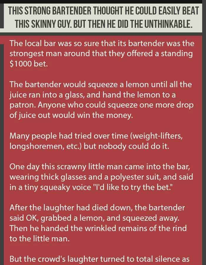 Funny Clean Bar Joke About A Bet