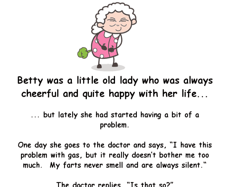 Clean joke - old lady with a farting problem