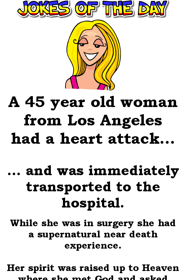 A woman gets breast implants - funny joke