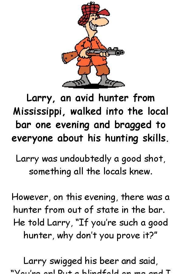 Funny hunting joke - dirty
