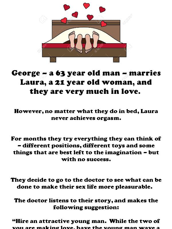 George's marital problems - hilarious adult joke