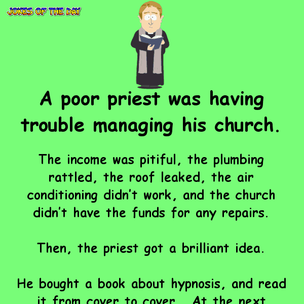 Greedy priest hypnotizes his congregation for money – but he wasn't ready for the terrible consequence
