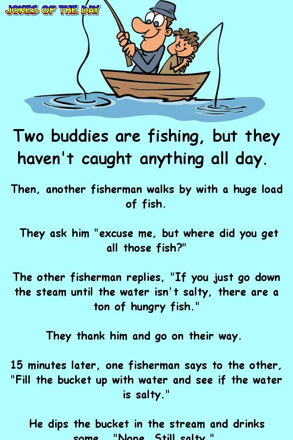 Funny Clean Joke - The not-so-bright fishermen