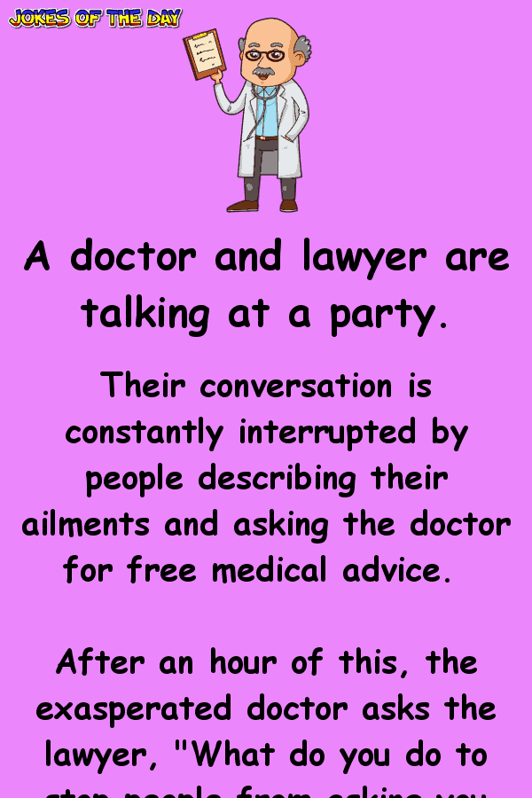 Clean Joke - The doctor was stunned to discover this
