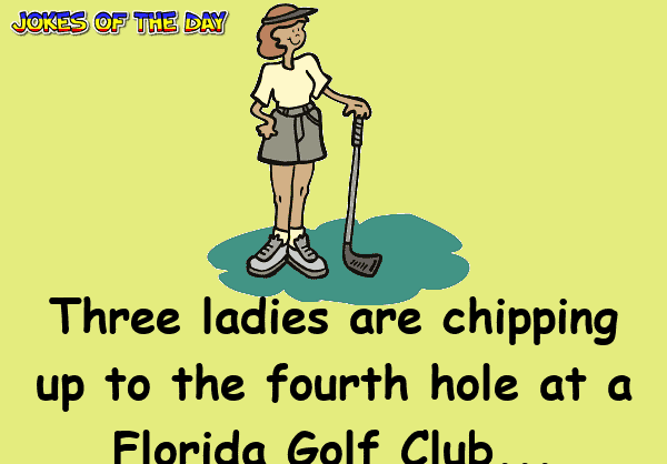 Dirty Joke - These three ladies get a surprise whilst playing golf