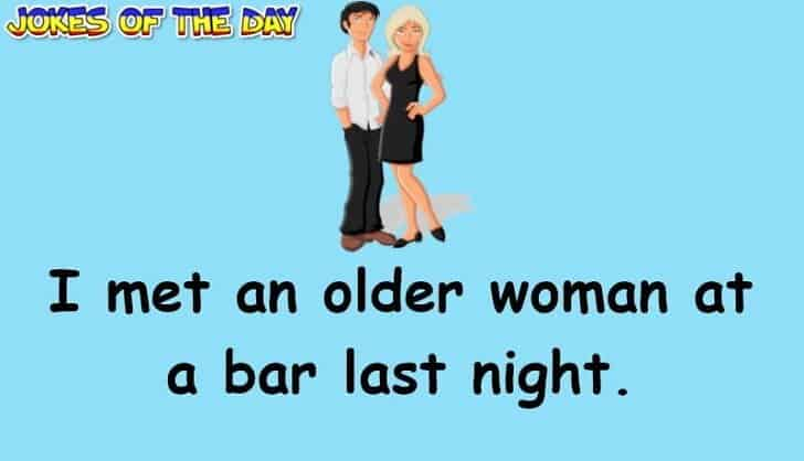 Bar Joke - This woman offers him a threesome that he couldnt refuse
