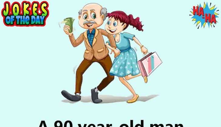 Dirty Joke - A young woman and an old man get married
