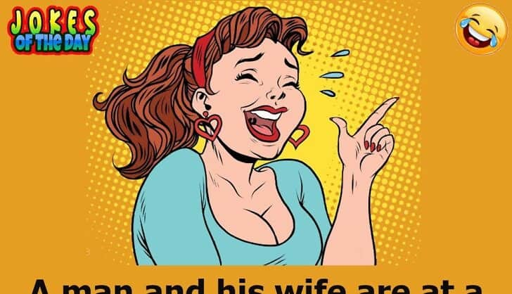 Joke - Wife discovers that the sexy woman is her husband's ex